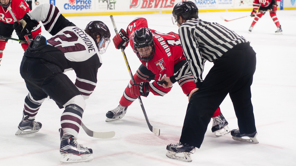 Men's Hockey at Union - Mayor's Cup - RPI TV