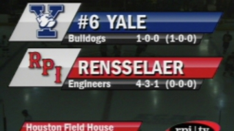 RPI Men's Hockey vs #6 Yale