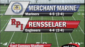 RPI Football vs. Merchant Marine