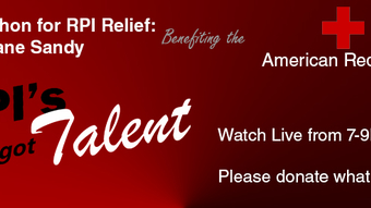 A Telethon for RPI Relief: Hurricane Sandy