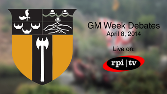 2014 GM Week Debates